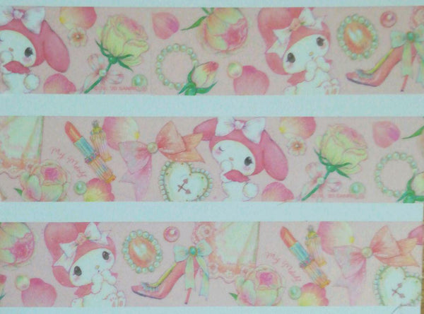 My Melody &  Miki Takei Masking Tape Crafting Paper
