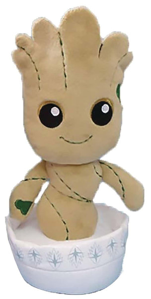 KidRobot Baby Groot in Plant Pot Plush Doll
