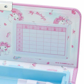 My Melody Pink Magnetic Pencil case Box