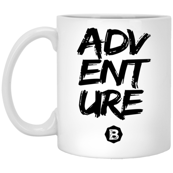Adventure 11 oz. White Mug
