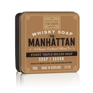 jabón manhattan en lata the scottish fine soaps