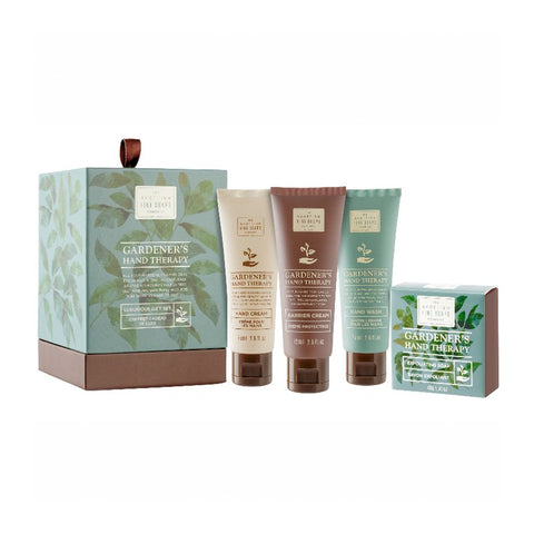 Gardener's Hands Therapy caja regalo para manos The Scottish Fine Soaps