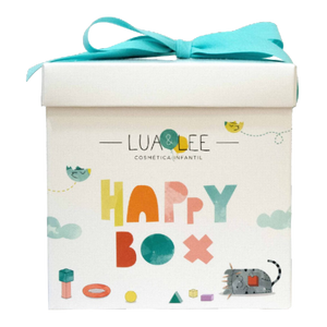 happy box lua & lee kids colonia, spray desinfectante y sorpresa