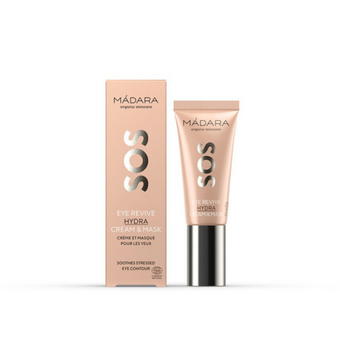 SOS Eye Revive Cream & Mask contorno de ojos y mascarilla Mádara