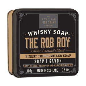 jabón rob roy en lata the scottish fine soaps