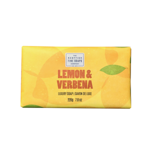 lemon & verbena jabón sólido the scottish fine soaps