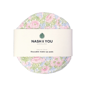 discos desmaquillantes de algodón nash & you
