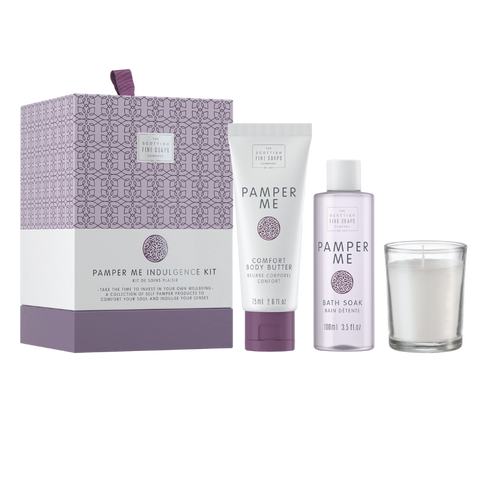 Pamper Me caja regalo bañera The Scottish Fine Soaps