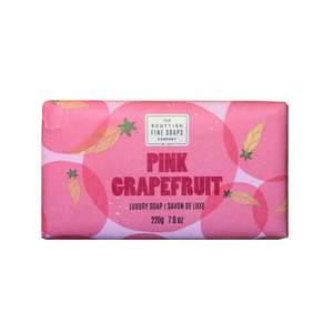 pink grapefruit jabón sólido the scottish fine soaps