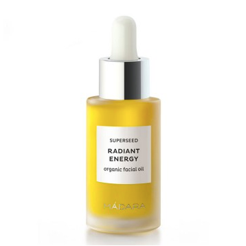 Radiant Energy aceite facial orgánico Superseed Mádara