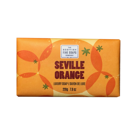 seville orange jabón sólido the scottish fine soaps