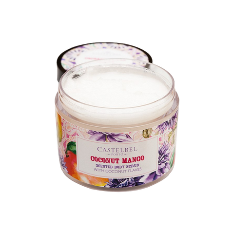 smoothie coconut mango body scrub castelbel