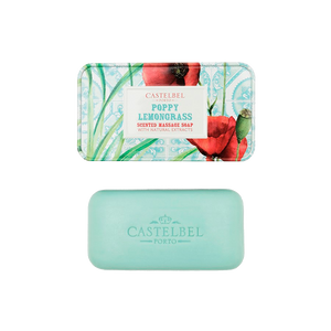 smoothie poppy lemongrass soap castelbel