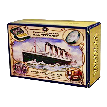 jabón vinolia titanic luxury bath soap