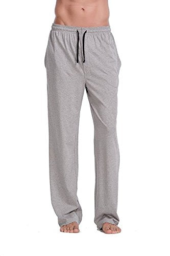 CYZ Comfortable Jersey Cotton Knit Pajama Lounge Sleep Pants