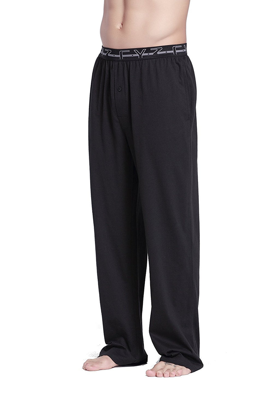 CYZ Men's 100% Cotton Knit Pajama Pants