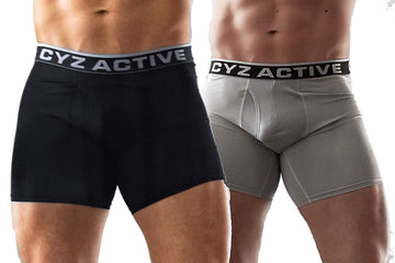 CYZ Men's Performance Boxer Brief 2-Pack