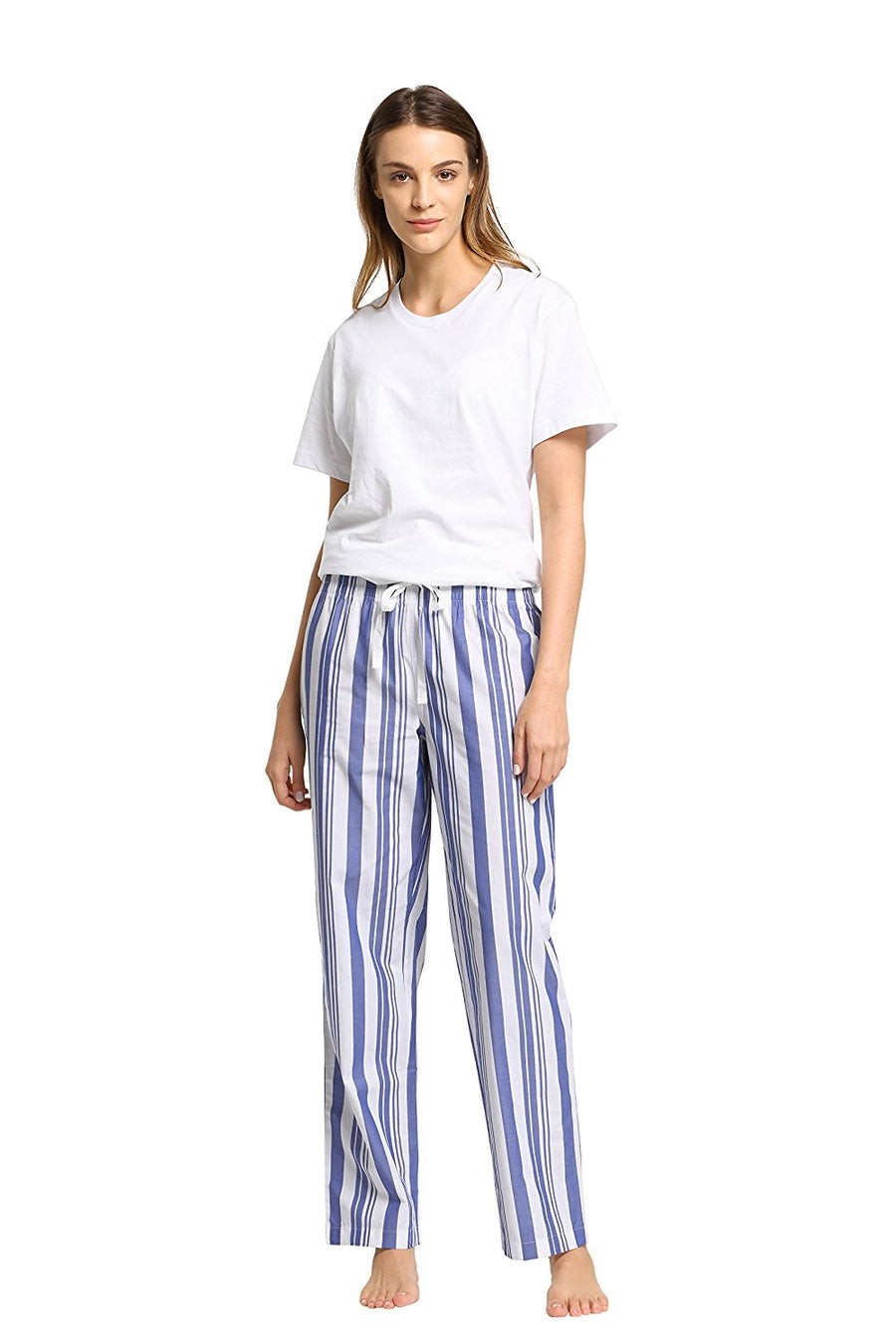 CYZ Women's 100% Cotton Woven Sleep Pajama Pants