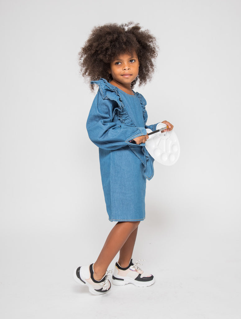 Robe jeans 4-14 ans