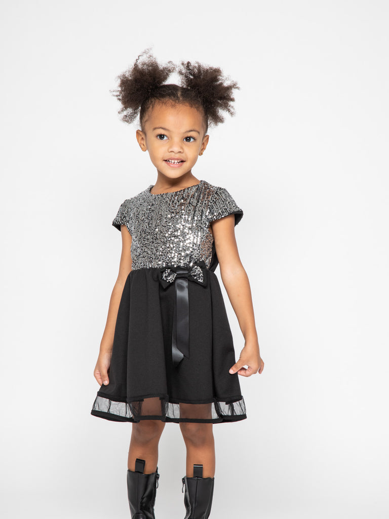Robe a sequins 4-14 ans