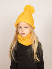 Ensemble bonnet + col