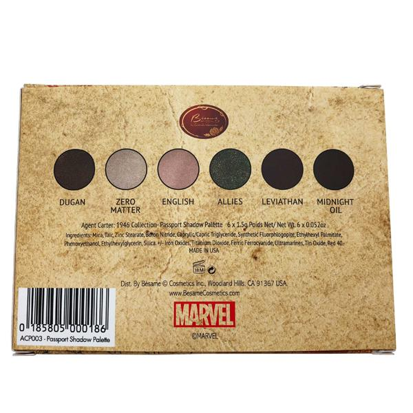 Bésame Agent Carter Passport Shadow Palette - GetDollied Canada
