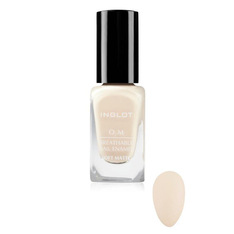 "INGLOT O2M Breathable Nail Enamel ""Soft Matte"" - GetDollied Canada"