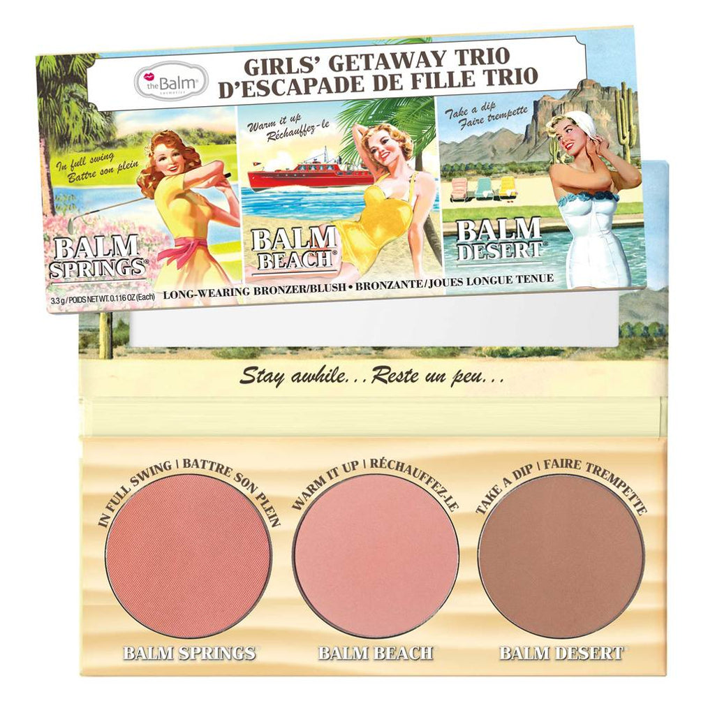 theBalm Cosmetics Girls Getaway Trio