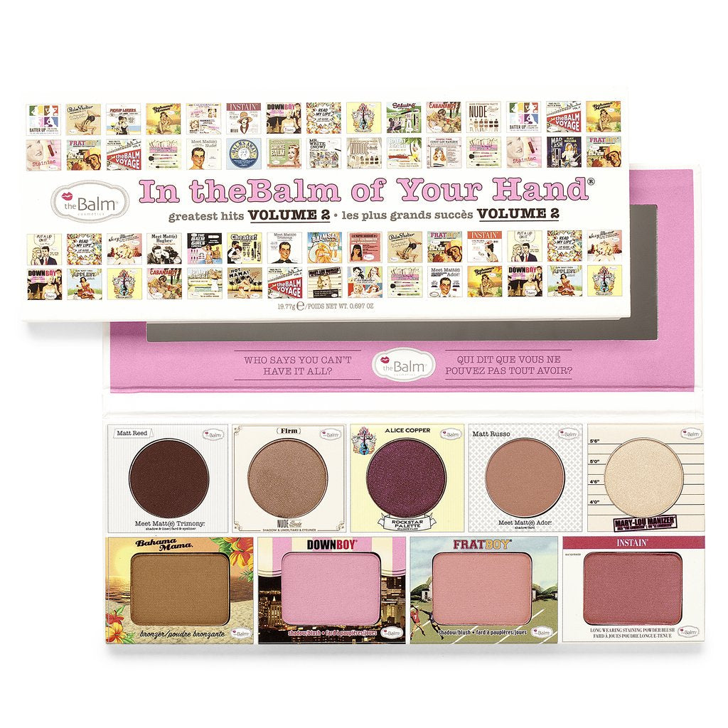 theBalm Cosmetics In theBalm of Your Hand - GetDollied Canada