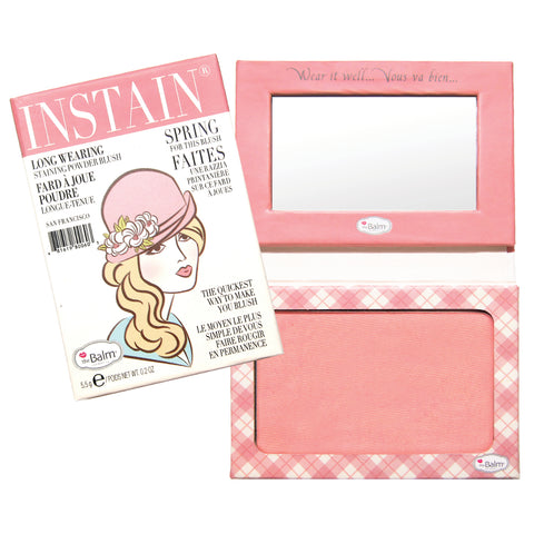 theBalm Cosmetics Instain Long-Wearing Staining Powder Blush