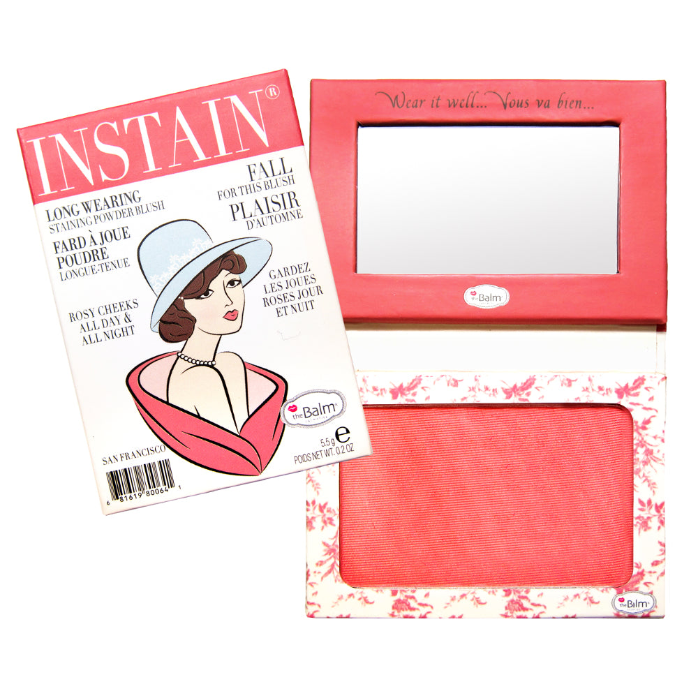 theBalm Cosmetics Instain Long-Wearing Staining Powder Blush - GetDollied Canada