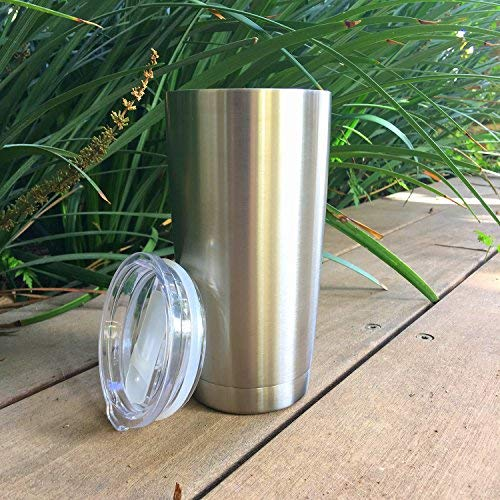 Stainless Steel Coffee Mug 20 oz with Splash Proof Sliding Lid - CHILLOUT LIFE