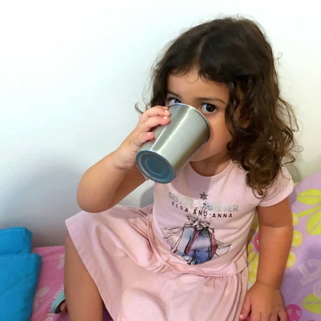 Stainless Steel Cups for Kids and Toddlers 8 oz (8 cups)
