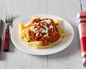 Country Munch Penne Bolognese w/ Parmesan cheese