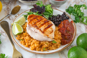 Cajun Chicken with Mexican Style Rice