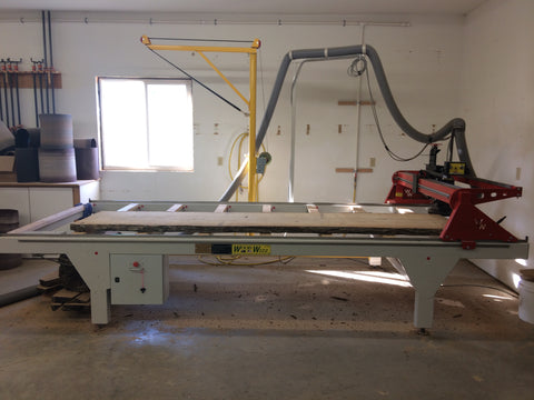 WoodWizz Slab Surfacing Machine