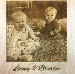 Photo Engraving Custom Laser Engraved