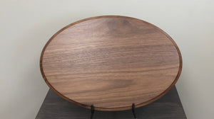 Walnut Oval - 10' x 15""