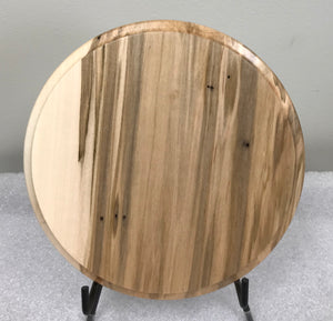 "Wormy Maple 8"" Round"