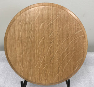 "Quarter Sawn Oak 8"" Round"