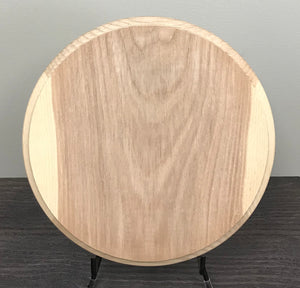"Ash Sanded 10"" Round - Wood Round - Wood Burning"