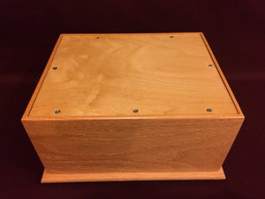 custom cremation box
