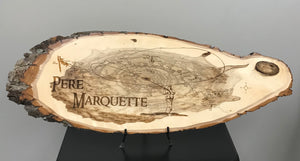 Pere Marquette River Wood Plaque