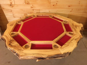 Rustic Poker Table