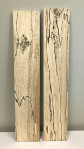 Spalted Maple Specialty Lumber - Short Length Lumber