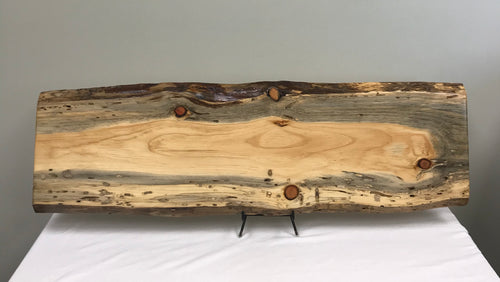 Pine Live Edge Slab - Finished