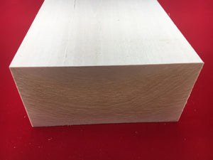 "3"" X 6"" Basswood Carving Blocks"