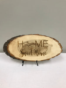 Home Sweet Home Wood Art