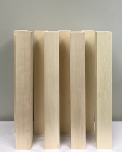 "Basswood Carving Blocks (8) 3"" X 3"" X 24"""