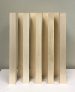 "Basswood Carving Blocks (18) 2' x 2"" x 24"""